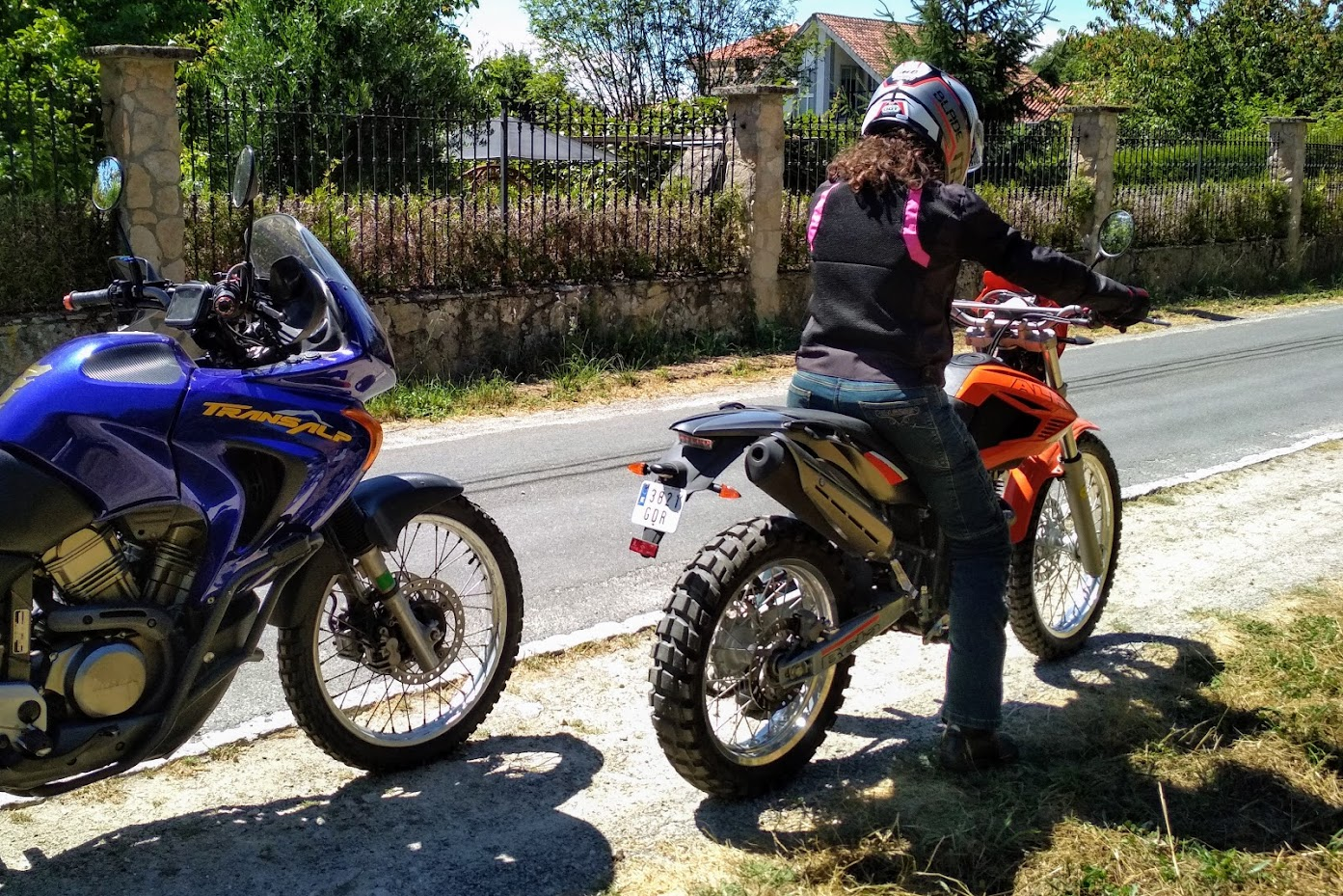Amateur Motorcycle Wives Photos