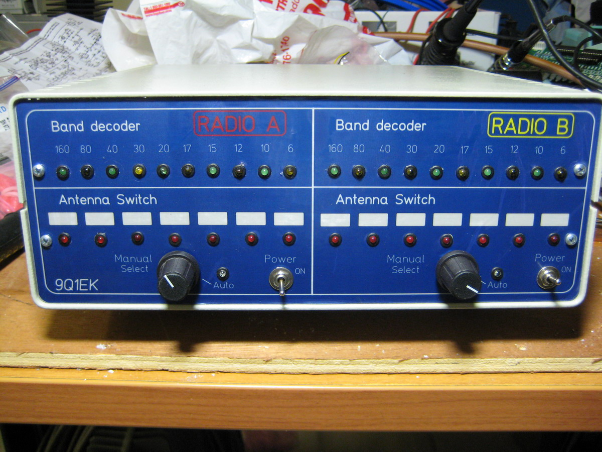 Amateur Remote Antenna Switch