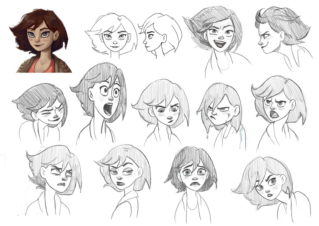 Anamated Facial Expressions
