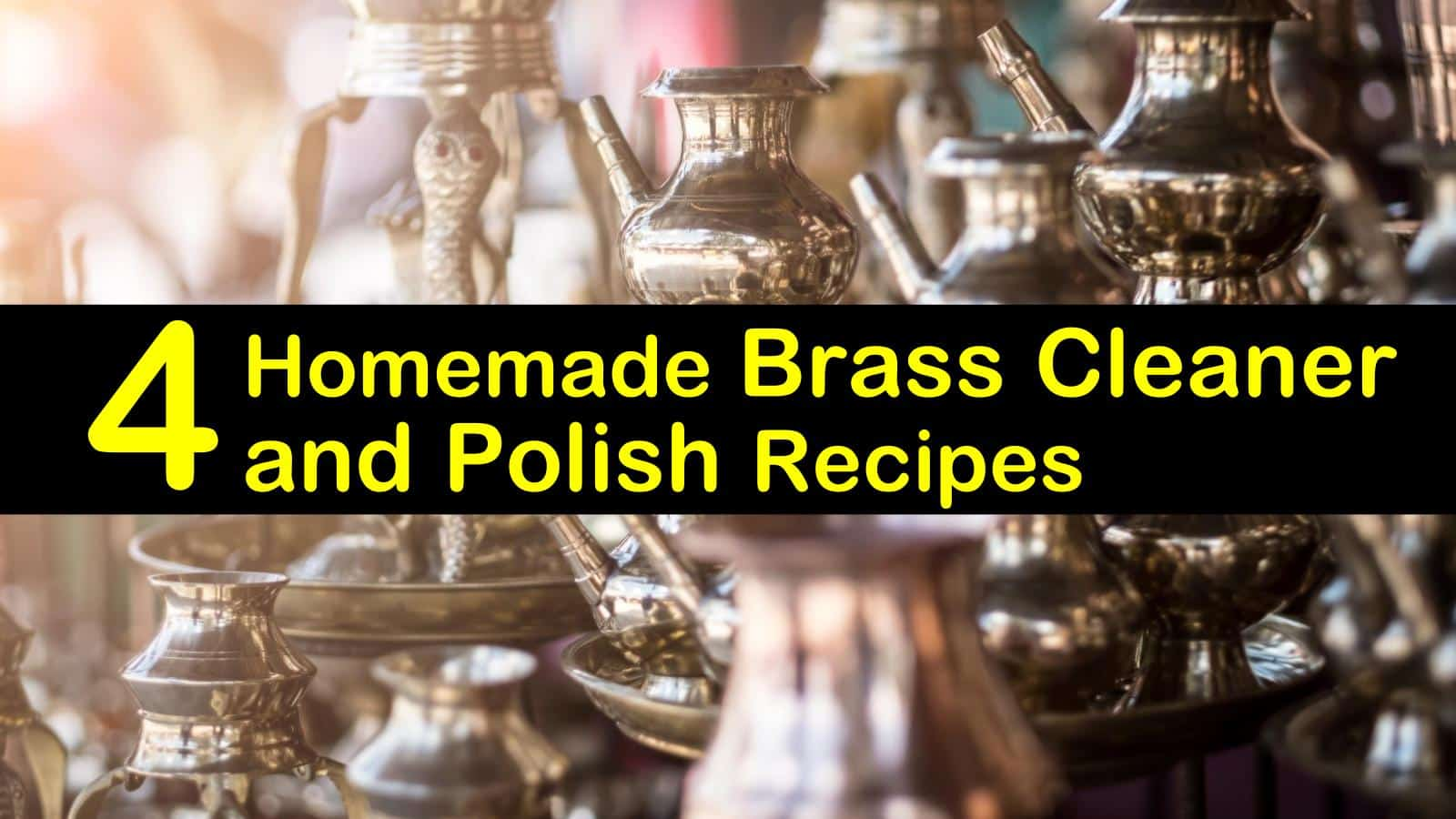 Homemade Brass And Copper Cleaner