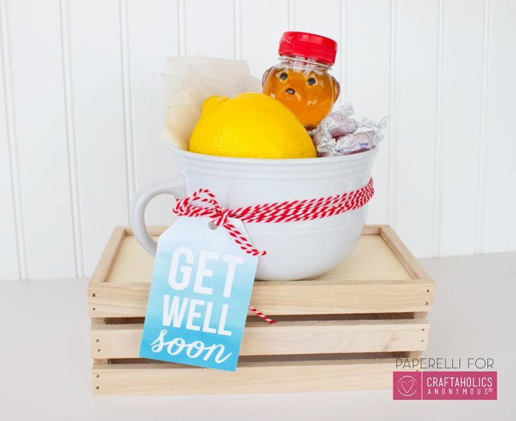 Homemade Get Well Soon Gifts