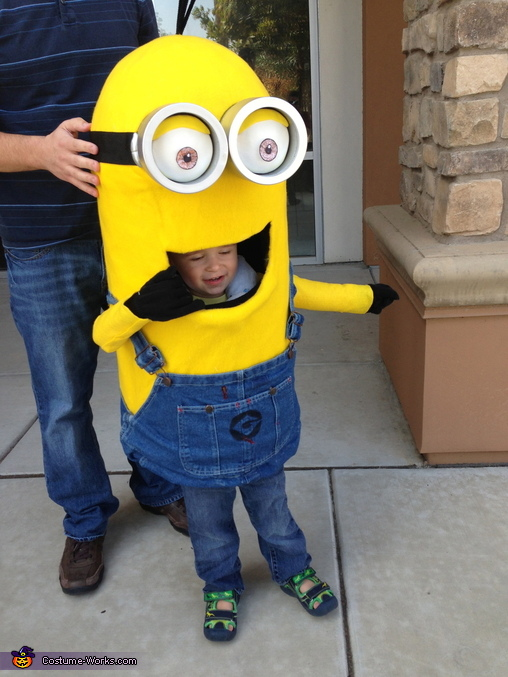 Homemade Minion Outfit