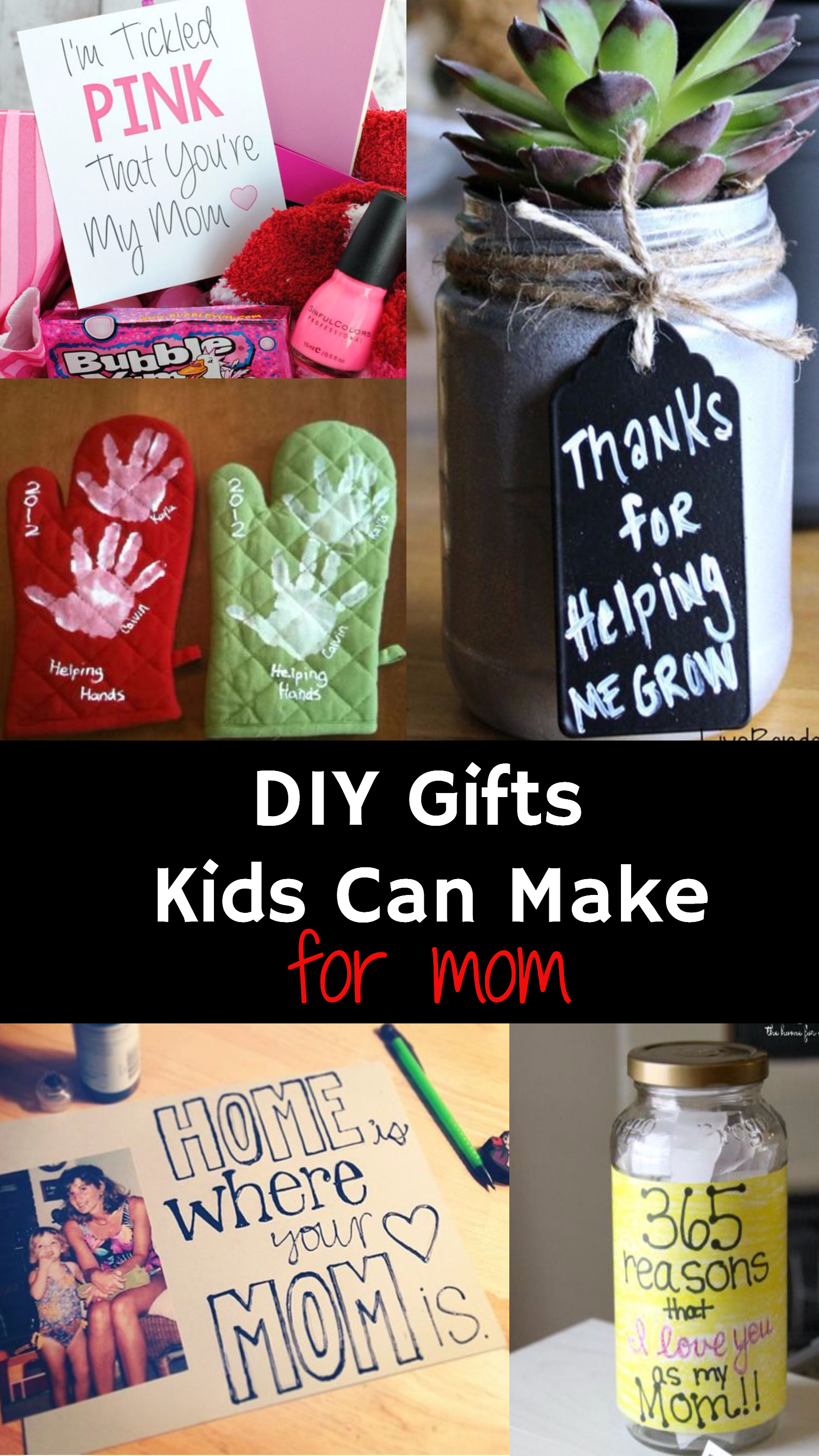 Perfect Gift For Mom Homemade