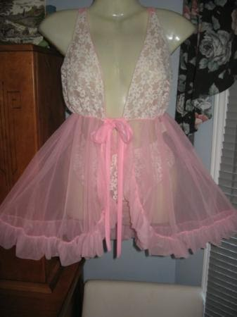 Sexy Pink Ruffle Lingerie